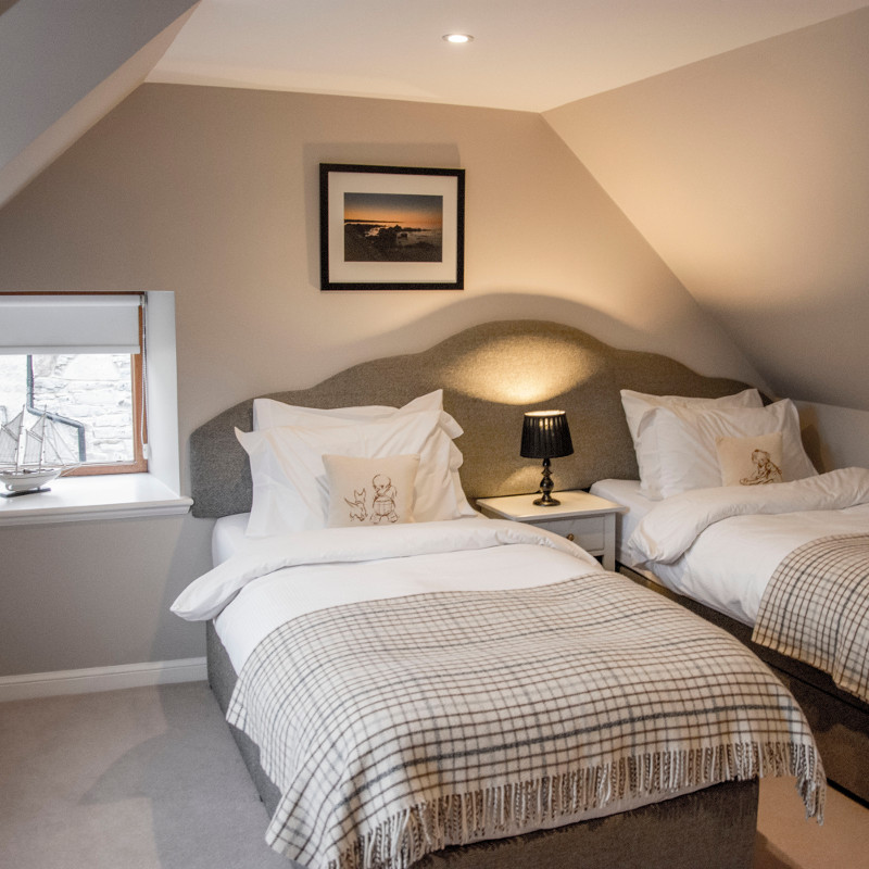 127 Seatown Holiday Cottage Bedroom