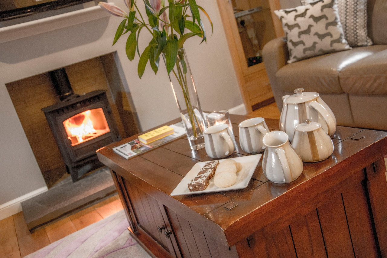 127 Seatown Holiday Cottage Living Area